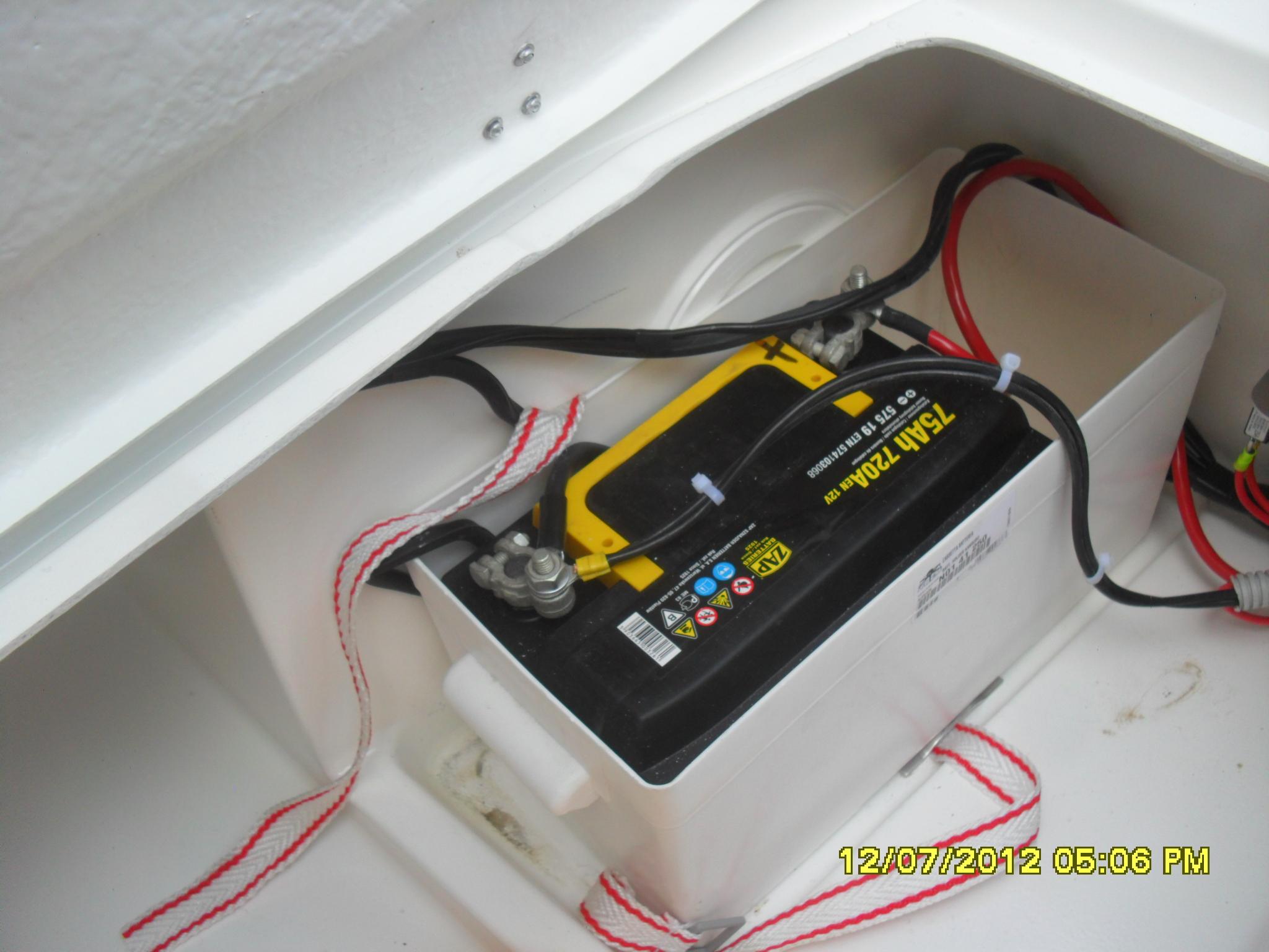 аккумулятор для эхолота на лодке