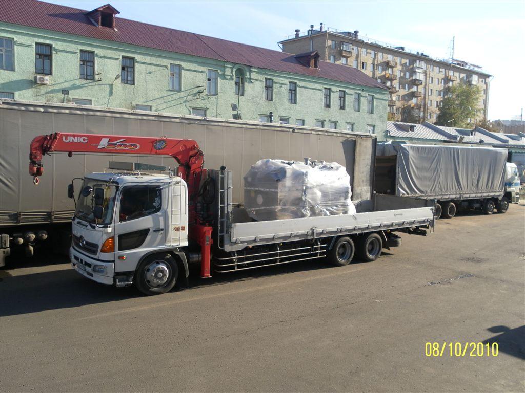 Перевозка негабаритных грузов в Челябинске негабарит